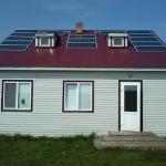 Солнечные батареи для дома из дерева