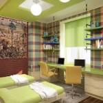 Двое в одной комнате: как решить проблему с помощью мебели