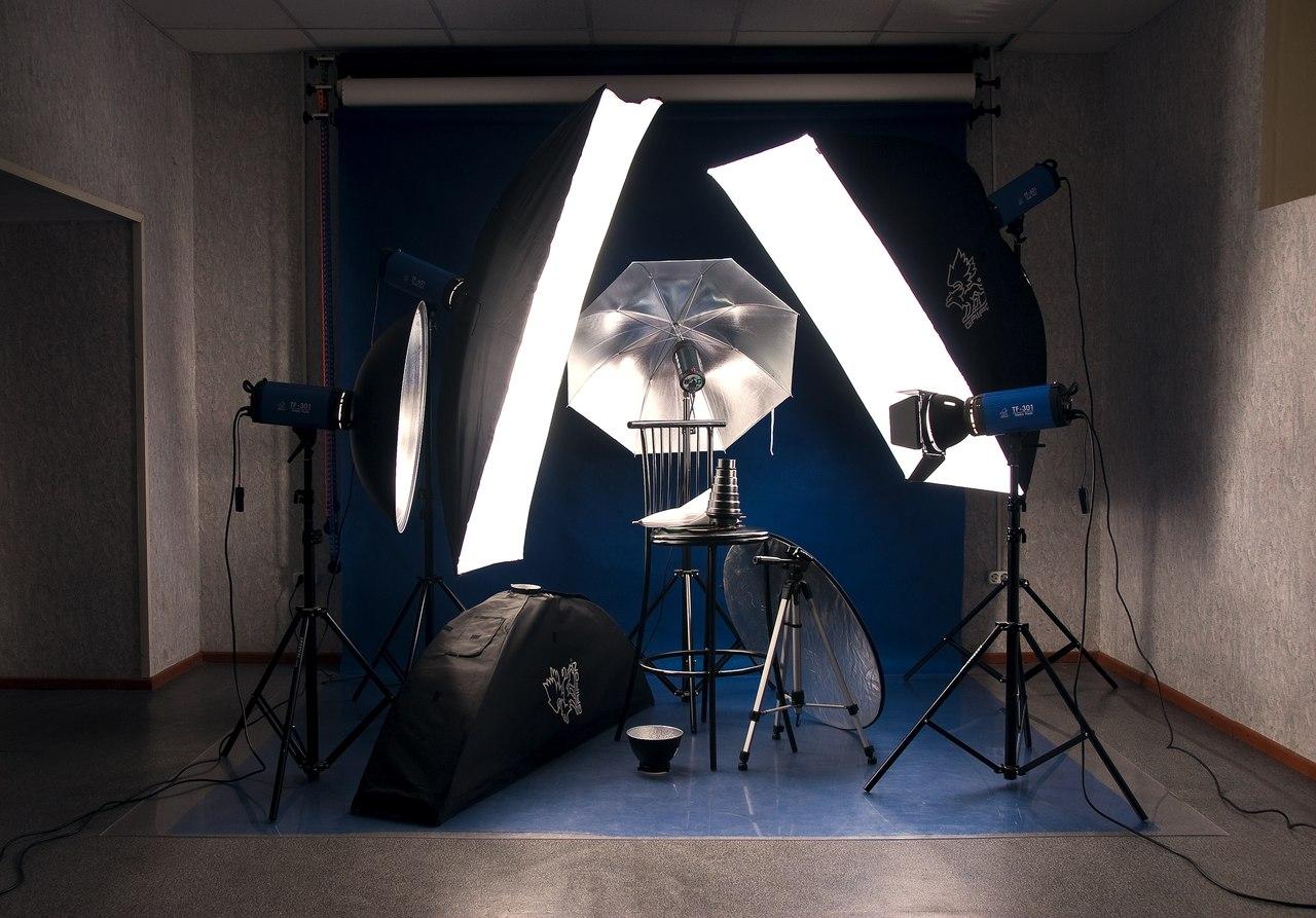 Фото схемы для фотостудии