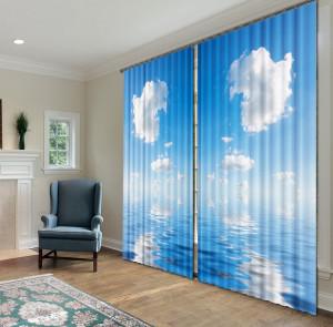 Раздвиньте границы интерьера своего помещения с помощью фотоштор