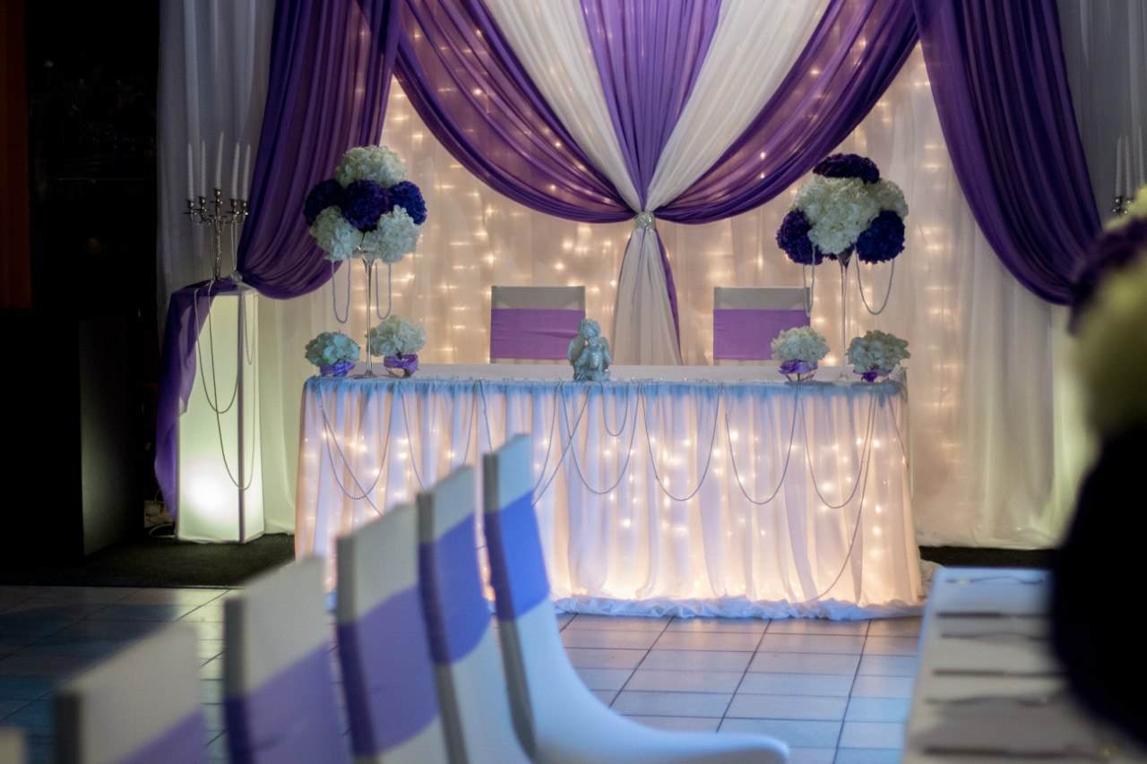 Интерьер свадебного зала