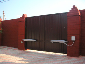 Современные автоматические откатные ворота