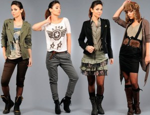 Молодежный женский стиль одежды на каждый день