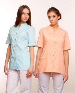 Женские медицинские блузы – стильная альтернатива белому халату