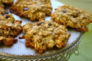 Готовим вкусное печенье быстро: банан и овсянка