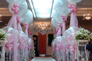 Украшаем свадебный зал своими руками: секреты оформления