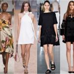 Дизайн и крой модных платьев в 2016 году
