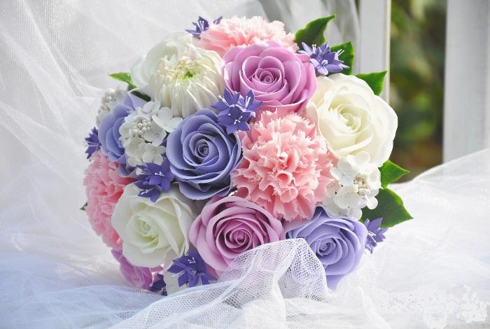 Как выбрать букет невесты на свадьбу розы из латекса на проволоке где купить в санкт-петербурге