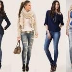 Секреты правильного выбора джинс для высоких и низких девушек