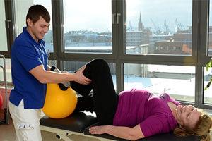 Упражнения при эндопротезировании тазобедренного сустава
