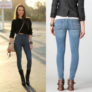 На что обратить внимание при выборе женских джинсов