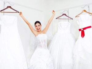 Как подобрать свадебное платье с учетом особенностей фигуры?