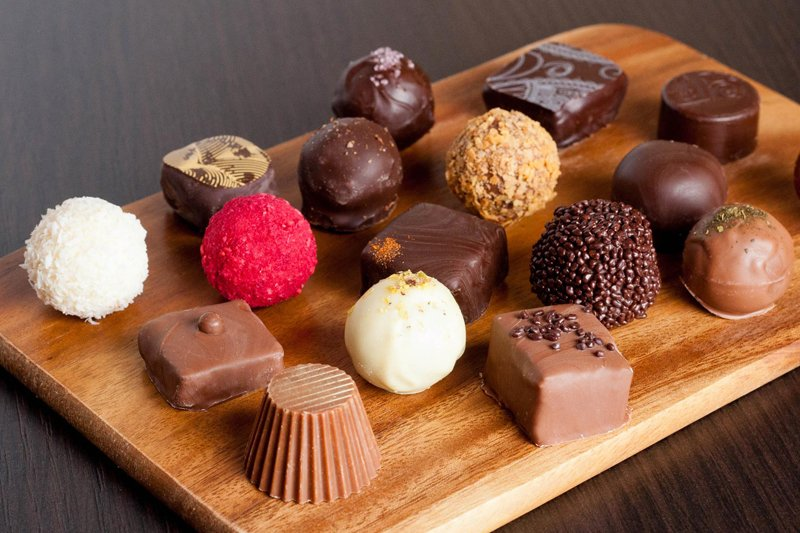 Изысканный вкус шоколадных конфет ручной работы